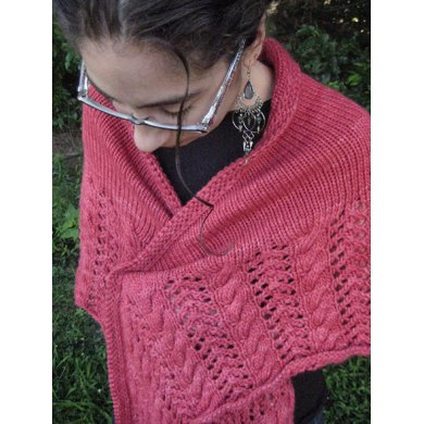 Winter Apple Shawl