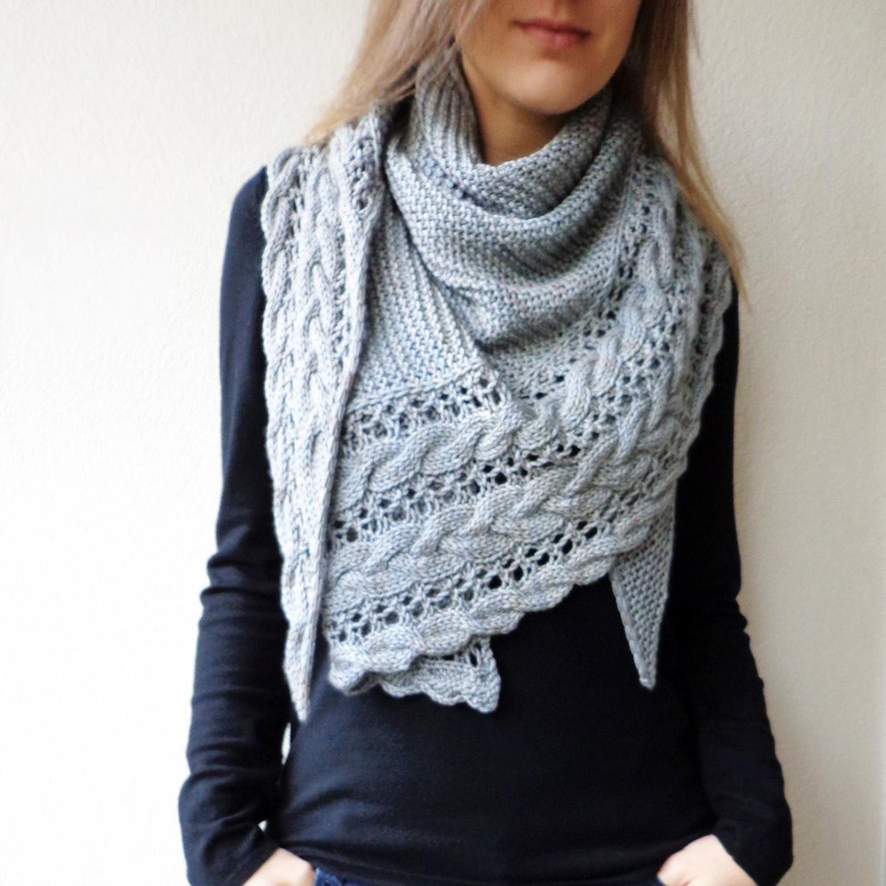 Fallen Cloud Knitting Pattern By Lisa Hannes