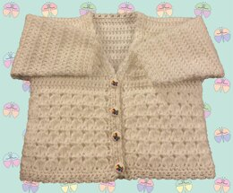 Cosy Twin Cluster Panel Cardigan