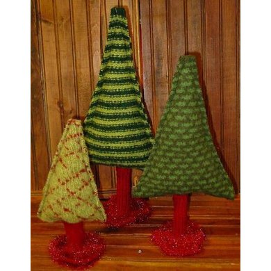 Christmas Trees - A Felted Forest