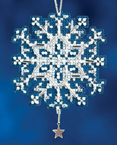 Mill Hill Star Crystal Cross Stitch Kit