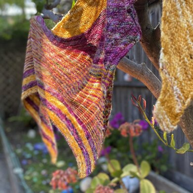Rad Honey Shawl
