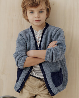 Jimmy Cardigan in Phildar Phil Ecojean - Downloadable PDF
