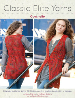 Couchette Top in Classic Elite Yarns Soft Linen - Downloadable PDF