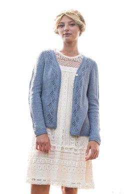 Chenin Cardigan in Berroco Summer Silk - 384-3