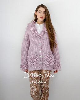 Loop Stitch Jacket in Debbie Bliss Paloma - DB039