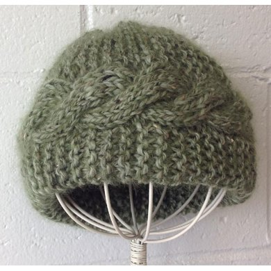 East West Cable Hat