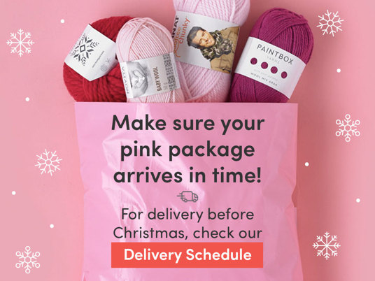 Make sure your pink package arrives in time this Christmas. For delivery times, check our schedule.