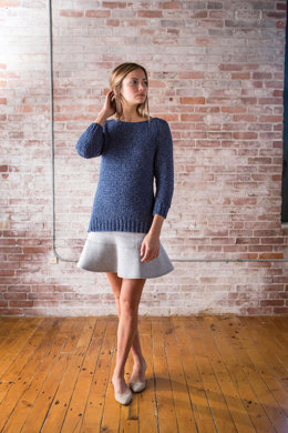 Knee High Explorer Sweater in Berroco Linus - PDF359-7