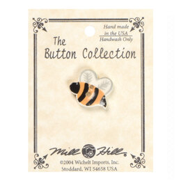 Mill Hill Button 86321 - Flying Bee