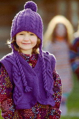 Child's Vest with Hat in Schachenmayr Bravo - 7141 - Downloadable PDF
