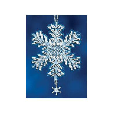 Mill Hill Ice Crystal Cross Stitch Kit