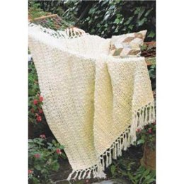 Popcorn and Lace Afghan in Patons Canadiana