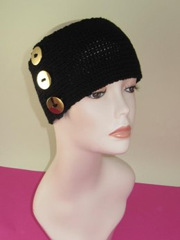 3 Button All Rib Headband