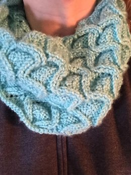 Ribbon Cables Infinity Scarf