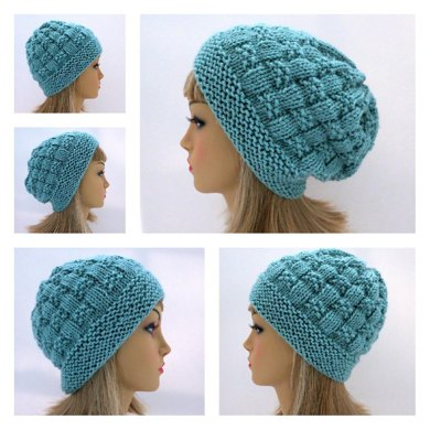 Adele - A Textured Slouch AND Toque