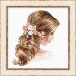 Riolis Romance Cross Stitch Kit - 25cm x 25cm