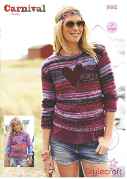 Sweaters in Stylecraft Carnival and Special Chunky - 9082