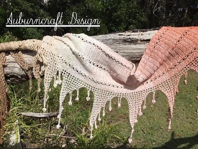 Fishing For Luck Shawl