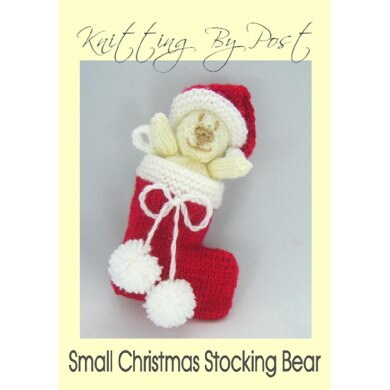 Christmas Bear Stocking