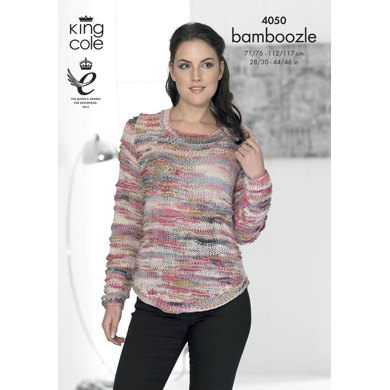 Sweaters in King Cole Bamboozle - 4050