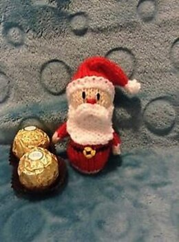 Father Christmas Ferrero Choc cover