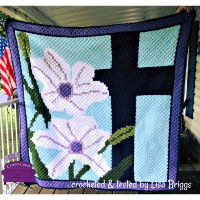Easter Lily Afghan