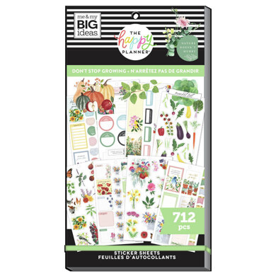 Me & My Big Ideas The Don't Stop Growing 30 Sheet Sticker Pad