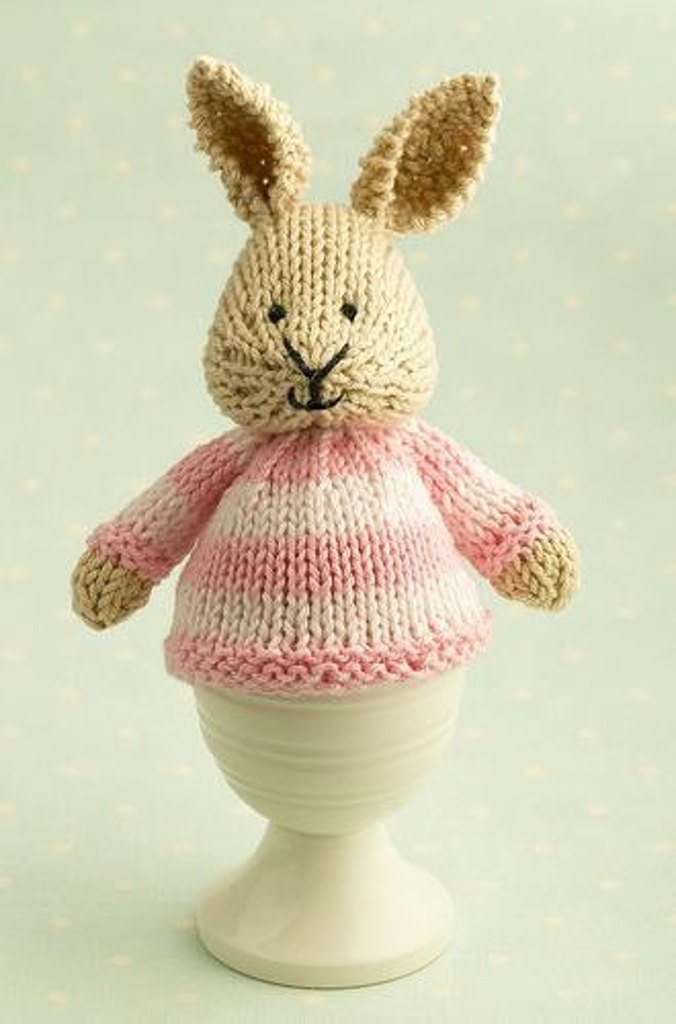 Bunny egg cosy knitting pattern by julie williams get 15 off your first order and free patterns negle Choice Image