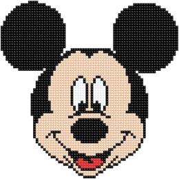 Diamond Dotz Diamond Embroidery Facet Art Kit - Disney Mickey Head