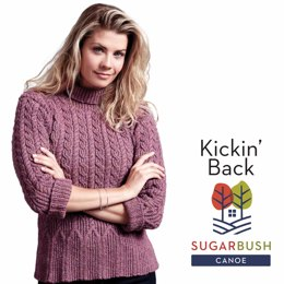 Kickin' Back by Sugar Bush Yarns by Sugar Bush Yarns
