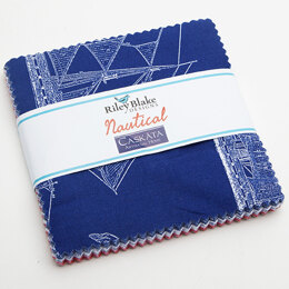 Riley Blake Nautical 5in Charm Pack