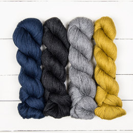 Cascade Yarns Sorata Susanna IC Mystery Knit-A-Long 4 Skein Color Pack