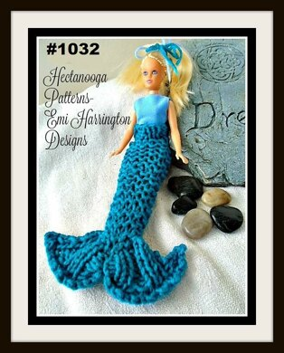 1032-Barbie Mermaid Tail