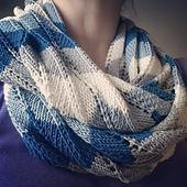 Sea Wave Infinity Scarf