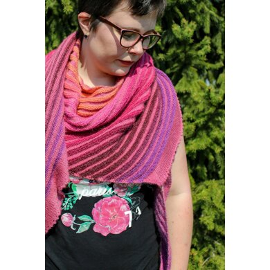 Dreaming of a Sunset Shawl