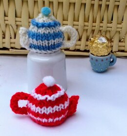 Teapots - Mini Chocolate 'Tea Cosies'