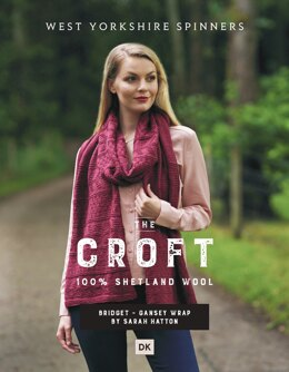 Bridget Wrap in West Yorkshire Spinners The Croft DK - DBP0051 - Downloadable PDF