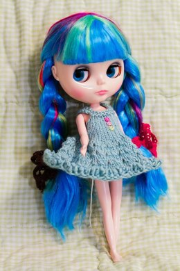 Blythe Knitted Lace Dress