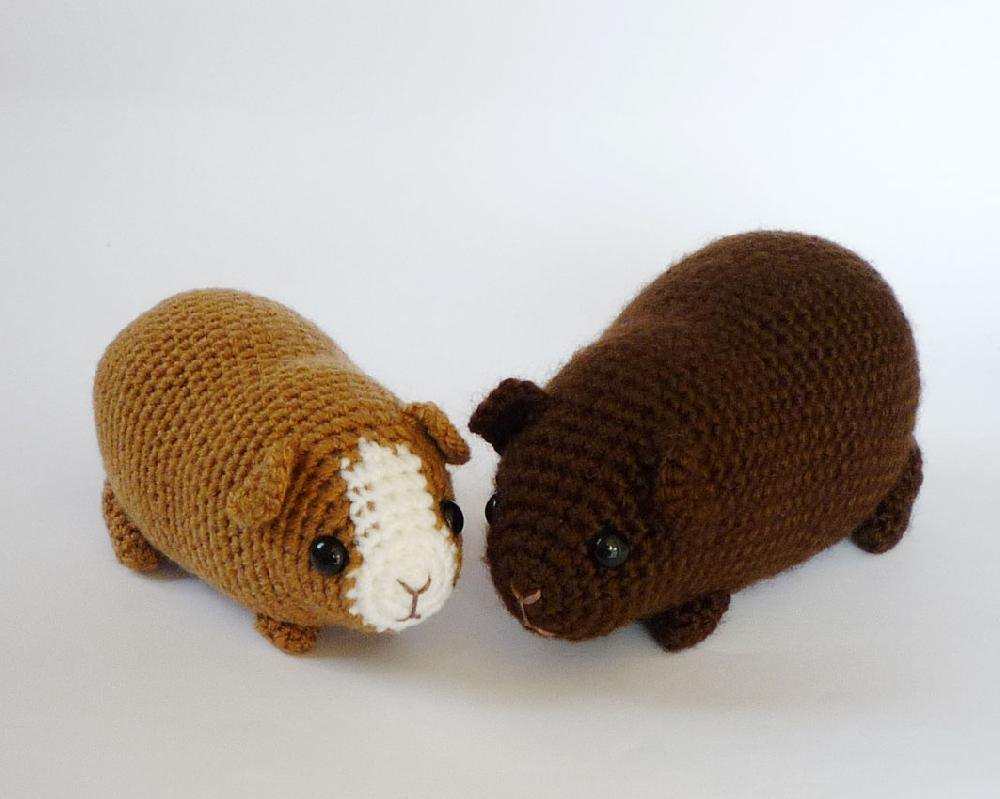 Amigurumi Guinea Pig : Guinea pig combo pack crochet patterns lovecrochet