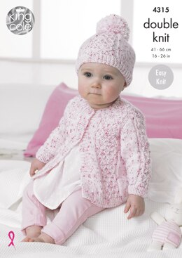 Coats & Hat in King Cole Smarty DK - 4315 - Downloadable PDF