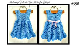 990 - baby and girls Dress