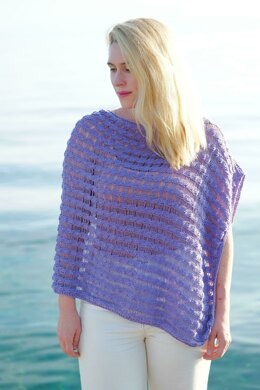 Nikola Poncho in Knit One Crochet Too Daisy - 2447 - Downloadable PDF