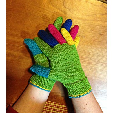 No-Gauge Custom-Fit Gloves