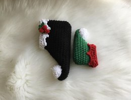 Elf Bootie & Hat Set N 336