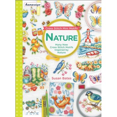 Tuva Publishing Cross Stitch Mini Motifs: Nature - 402374 -  Leaflet