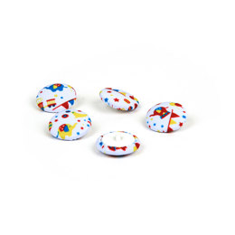 Rico Button Circus White