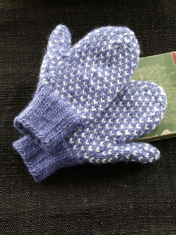 Nordic Headband Knitting Pattern : Nordic Mittens in Lion Brand Alpine Wool - 90106AD ...
