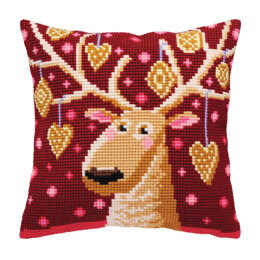 Collection D'Art Xmas Gingerbreads Cushion Cross Stitch Kit