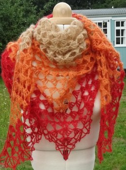 Pluming Lovely Shawl